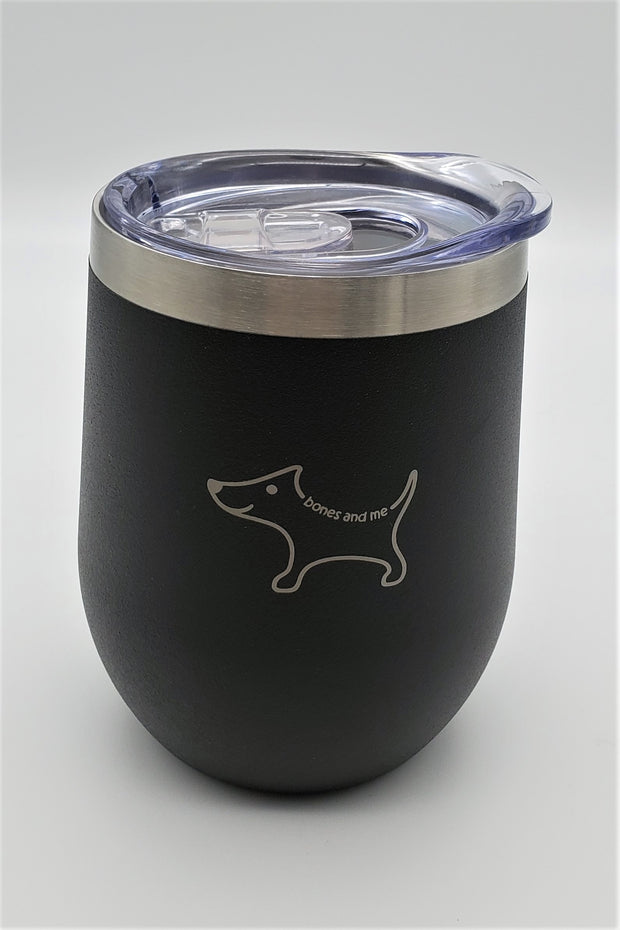 Black & White Chi Twin Pack Wine Tumblers