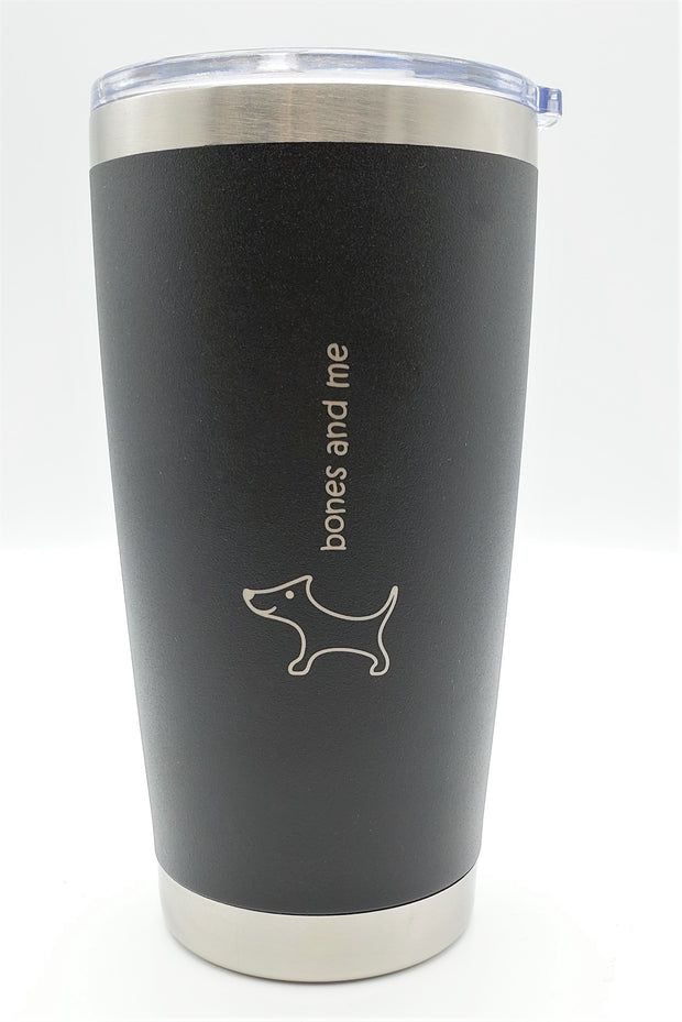 Black & White Doxie Twin Pack Drink Tumblers