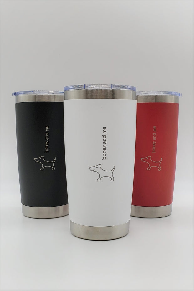 Triple-Pack Doxie - 20oz Drink Tumblers (RWB)