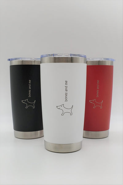 Six-Pack Doxie - 20oz Drink Tumblers (RWB)