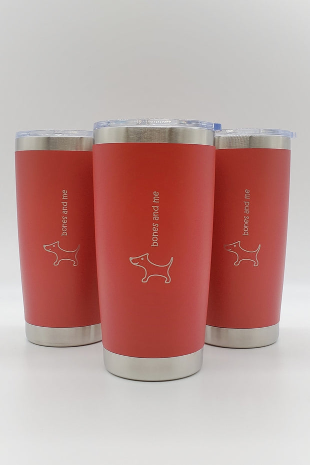 Triple-Pack Doxie - 20oz Drink Tumblers (RED)