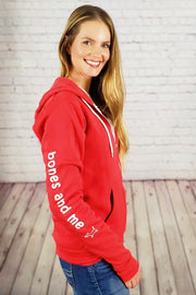 Coziest Do Good Fleece Zip-Up Hoodie - red
