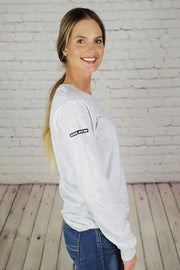 Everyday Classic Long Sleeve - Ash Grey
