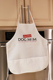 White Apron - Certified Dog Mom