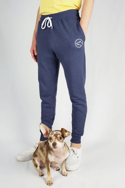 All Day Joggers (Heather Navy)