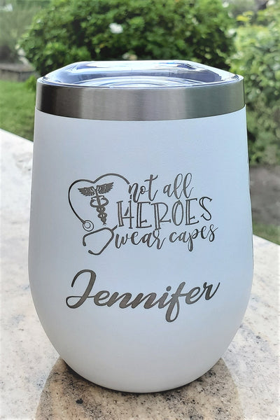 The HEROES Cup - 12oz (3 DESIGNS)