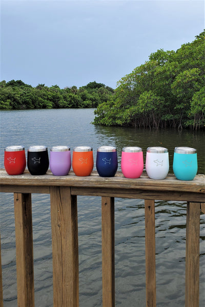 The Chi - 12oz Wine Tumbler (8 colors)