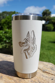 MANDALA CUP 20oz (40 BREEDS AVAILABLE) 7 COLORS