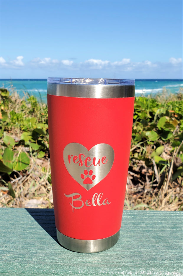 The Love Rescue Cup - 20oz Drink Tumbler