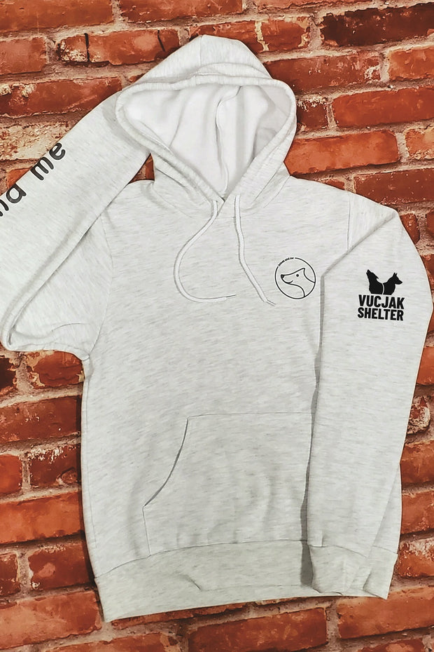 VUCJAK edition - Coziest Do Good Fleece Hoodie - heather grey