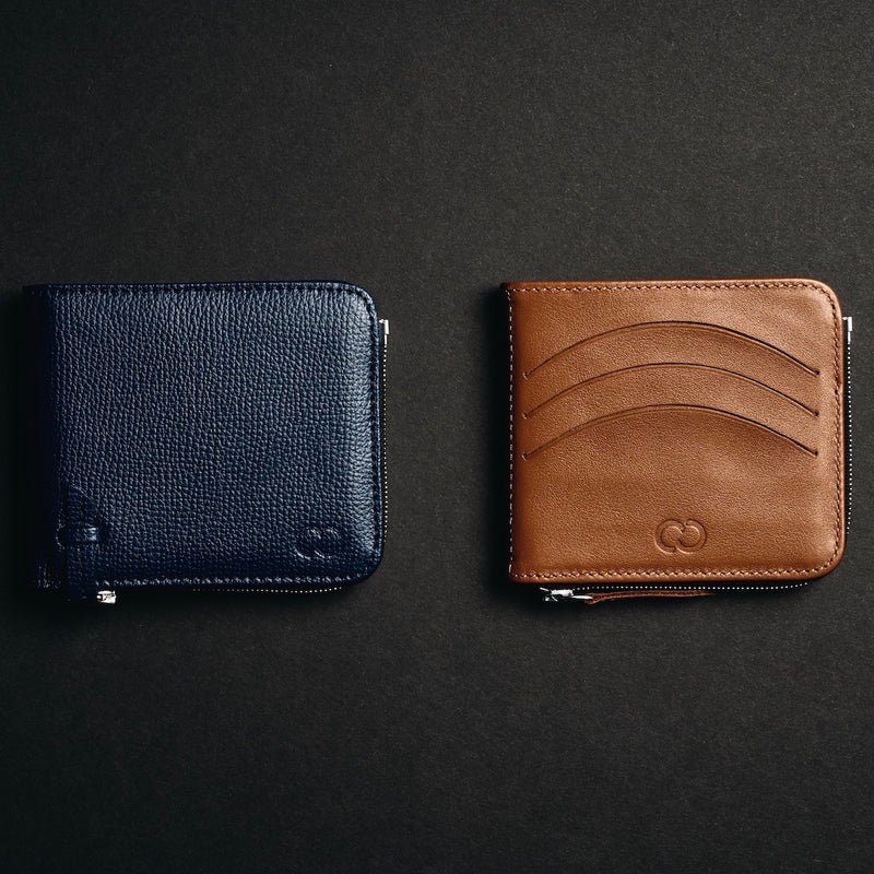 The Slim & Bifold Blue