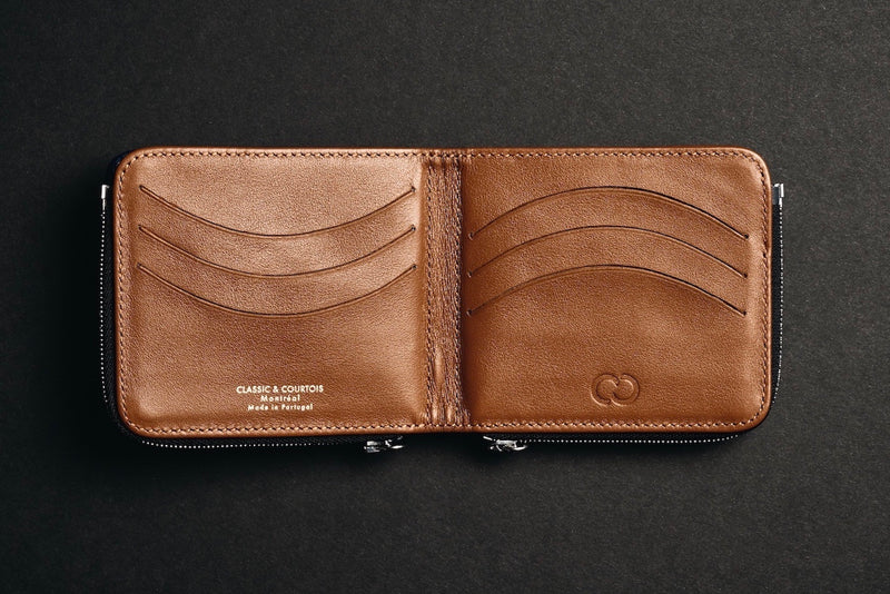 The Slim & Bifold Brown