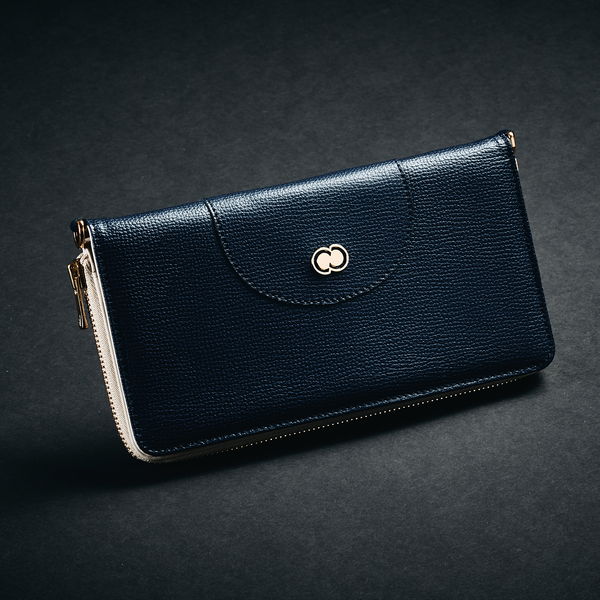 Casual Clutch Wallet - Blue