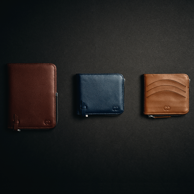 The Laurent All-In Wallet Blue