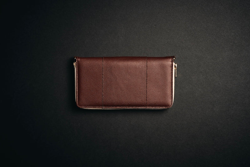 Classic Travel Wallet - Dark Brown