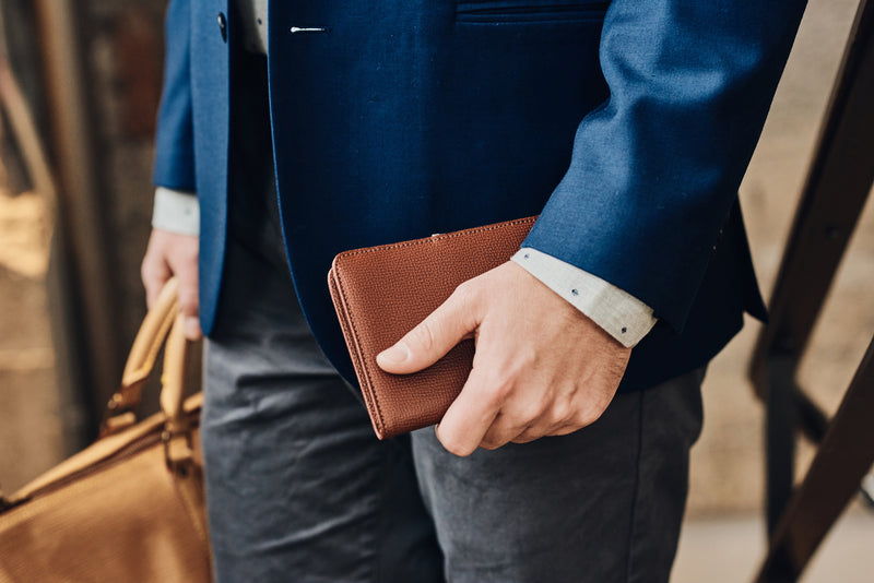 The Laurent All-In Wallet Brown
