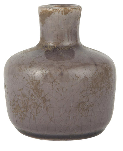 Vase small brown