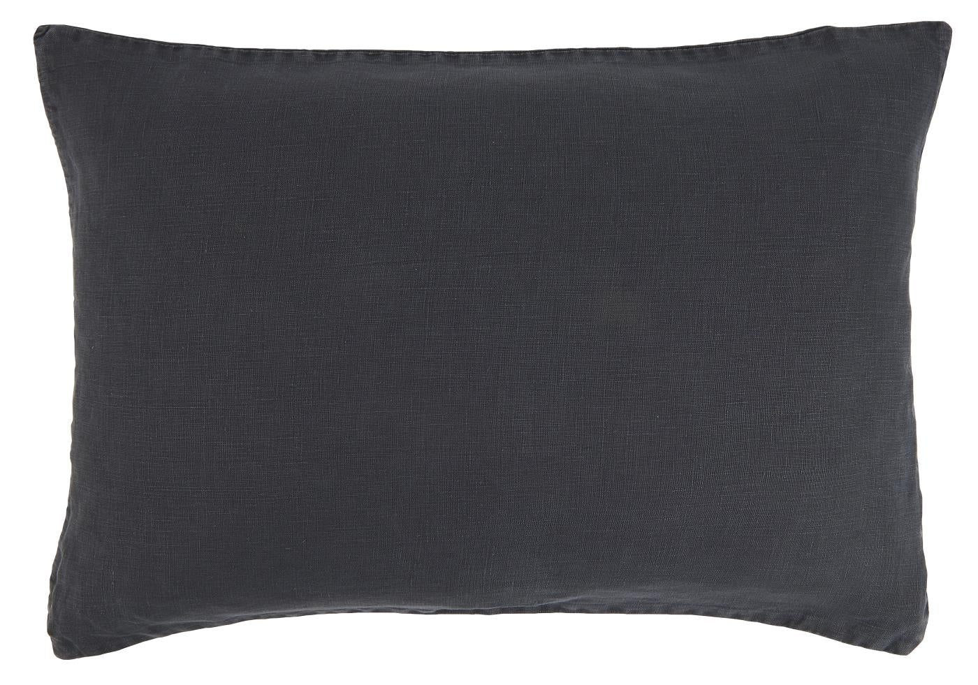 Ib Laursen Cushion Cover 60 x 40 cm midnight blue linen