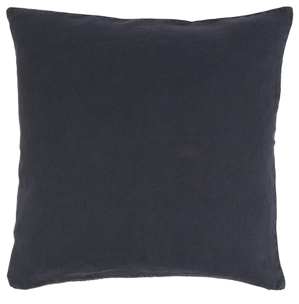 Ib Laursen Cushion Cover 50 x 50 cm midnight blue linen