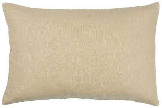 Ib Laursen Cushion Cover honey 60 x 40 cm linen