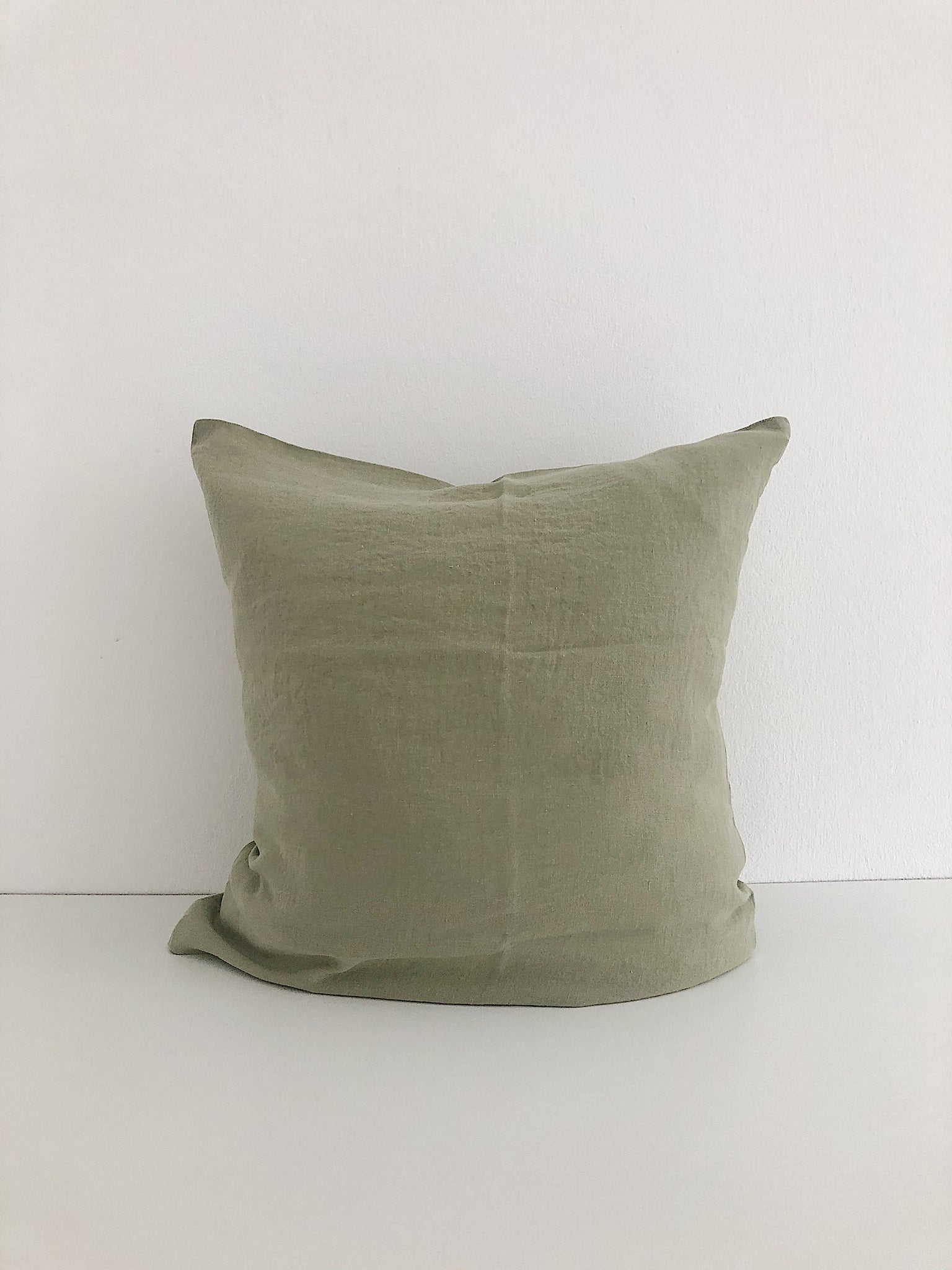 Linge Particulier Cushion Cover Fennel