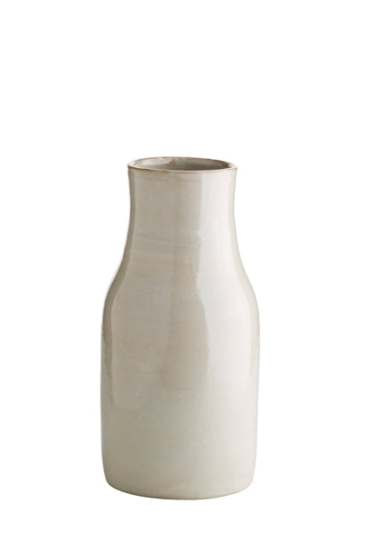 Ceramic Vase Bottle shadow handmade
