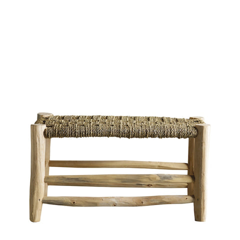 Palmleaf Bench