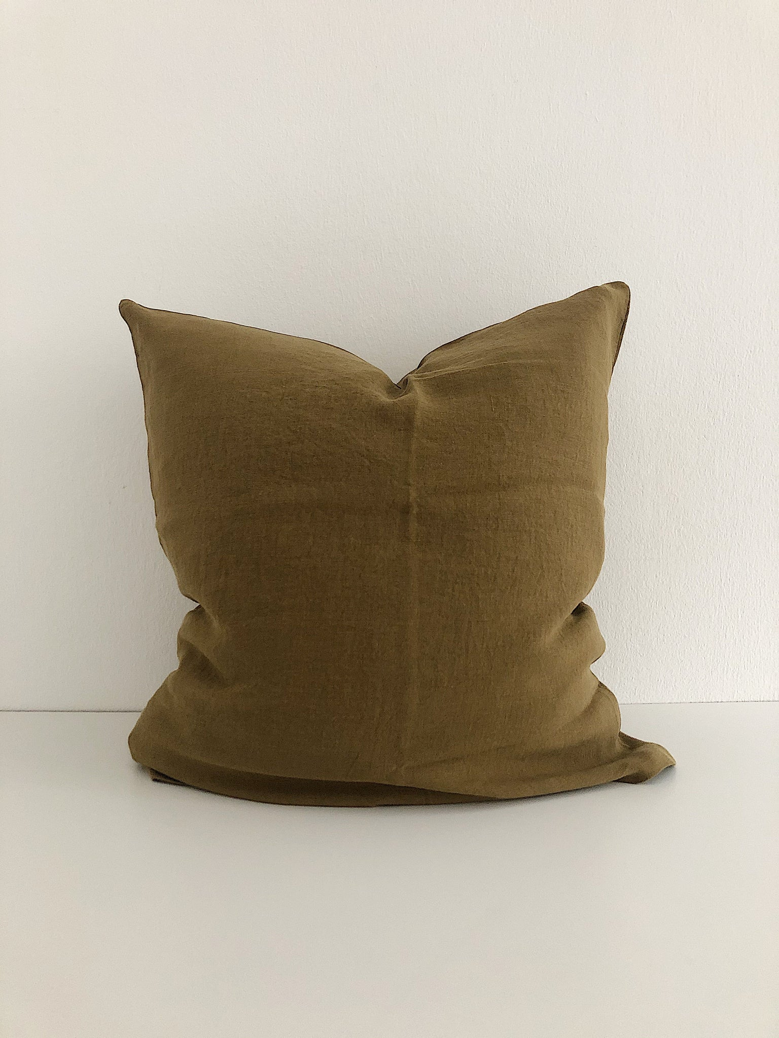 Linge Particulier Cushion Cover Mustard
