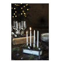 Load image into Gallery viewer, Ib Laursen Candles white 7 Pcs thin