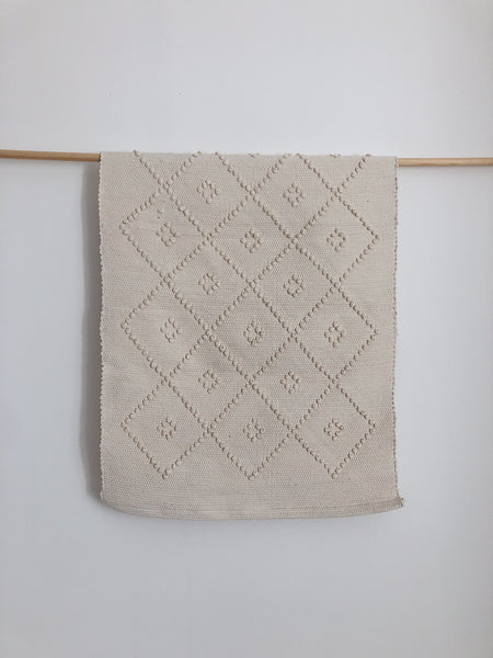 Handwoven Carpet with Knots