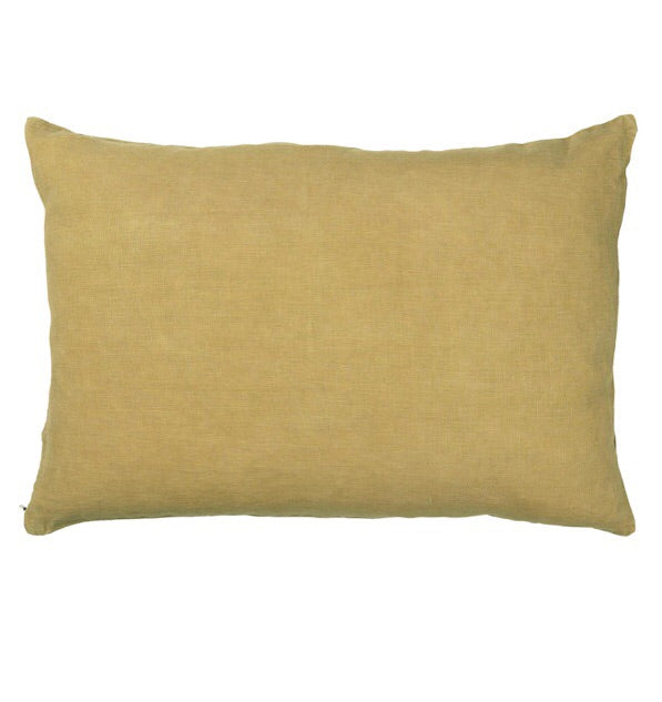 Ib Laursen Cushion Cover 60 x 40 cm mustard
