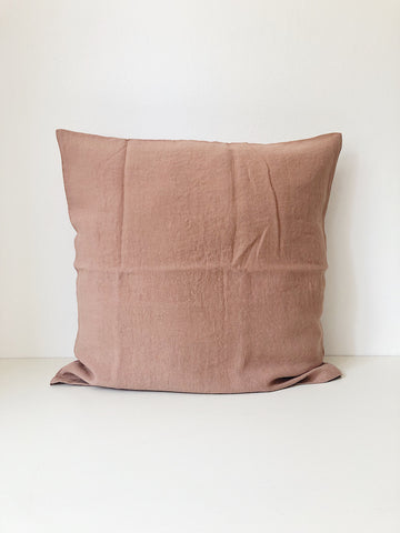 Linge Particulier Cushion Cover Moka
