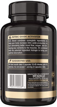 Load image into Gallery viewer, RARI Nutrition N.O. Boost - 100% Natural Nitric Oxide Booster for Men's Muscle Growth, Vascularity, and Energy Boost | Nitric Oxide Supplement with AstraGin, and Agmatine Sulfate - 30 Servings