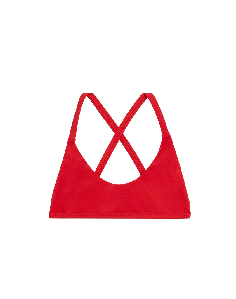 BIKINI IV TOP - CHERRY RED