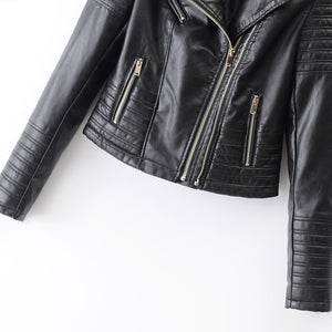 Women's Faux Leather Jacket