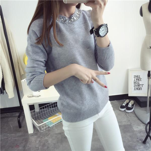Solid Cashmere Sweater