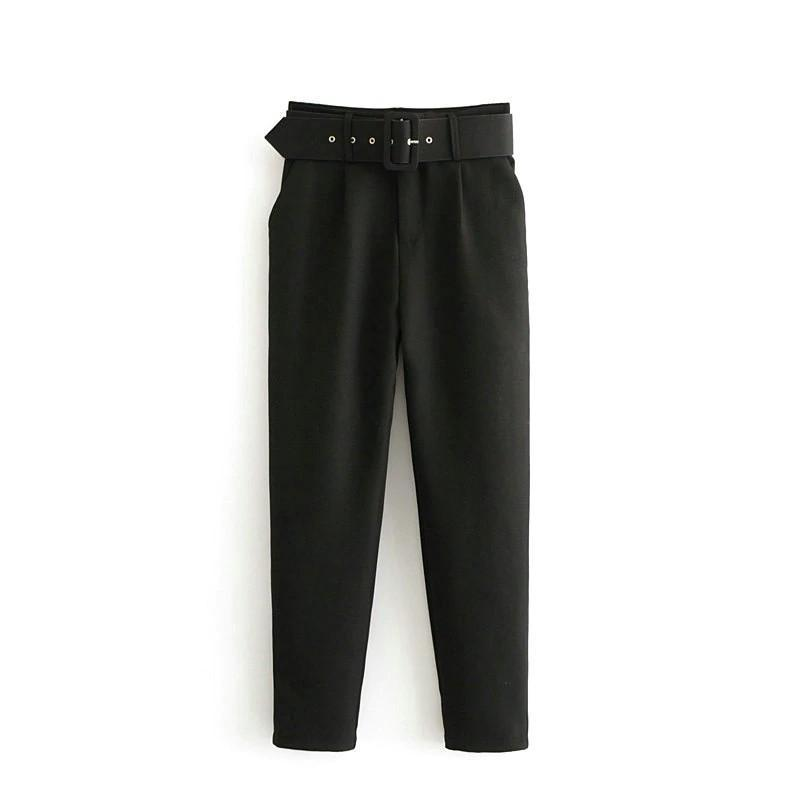 High Waist Elegant Pants