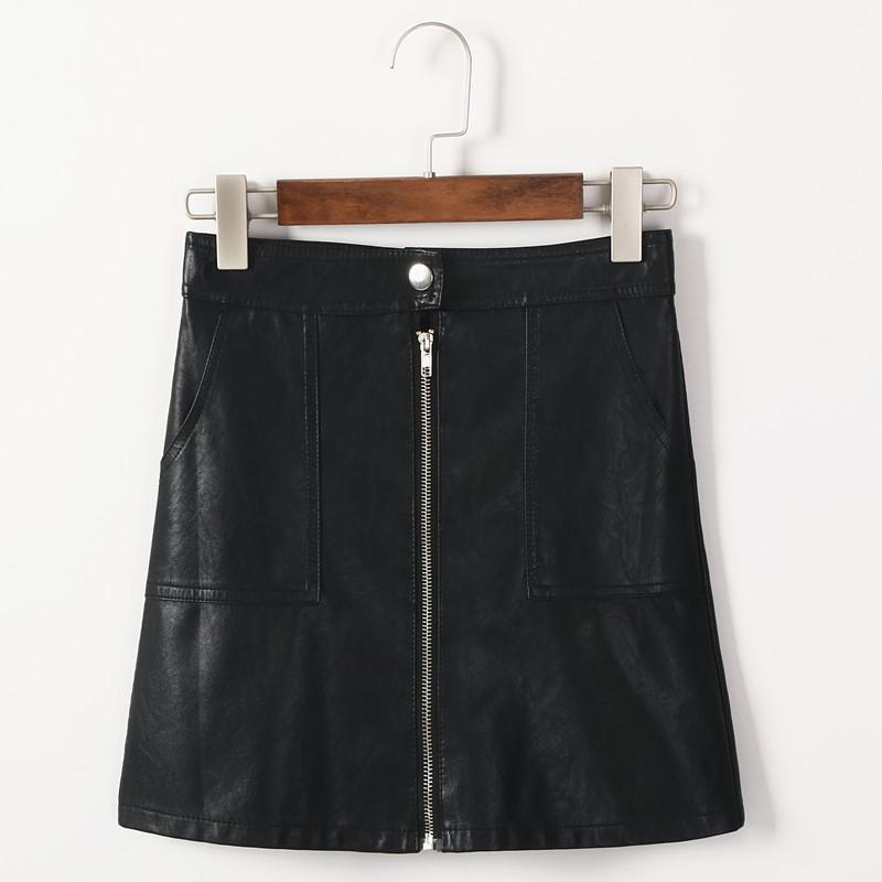 A-line Skirt With Zipper