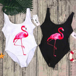 One Piece Flamingo Swimsuit