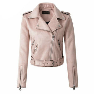 Women's Leather Coat