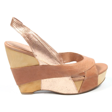 Nine West Womens Wedge Sandal NWLIAGH LTPNK LPNK