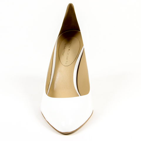 Andrew Charles By Andy Hilfiger Womens Pump White PHOENIX
