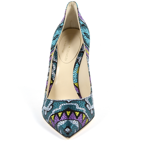 Andrew Charles By Andy Hilfiger Womens Pump Multicolor AUSTIN