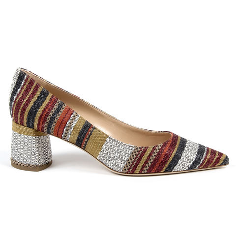Andrew Charles By Andy Hilfiger Womens Pump Multicolor LAS VEGAS