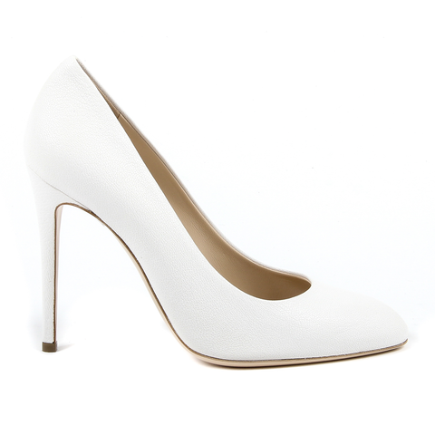 Andrew Charles By Andy Hilfiger Womens Pump White BOSTON