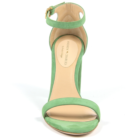 Andrew Charles By Andy Hilfiger Womens Sandal Green DOVER
