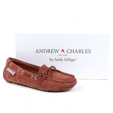 Andrew Charles Womens Loafer Brown CAMILLA