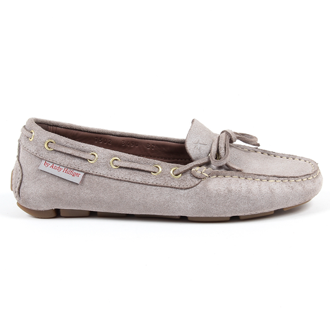 Andrew Charles Womens Loafer Grey CAMILLA