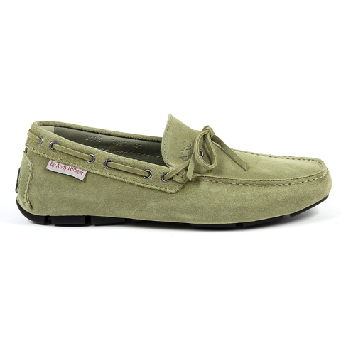 Andrew Charles Mens Loafer Green STEVE