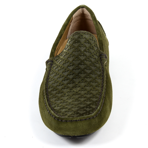 Andrew Charles Mens Loafer Green TRON